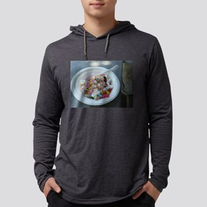 white bowl with vanilla ice cr Long Sleeve T-Shirt