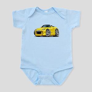 s2000 Yellow Car Body Suit
