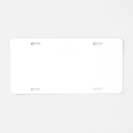 100% CAROLINE Aluminum License Plate