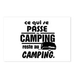 Camping Fr Postcards (Package of 8)