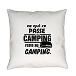 Camping Fr Everyday Pillow