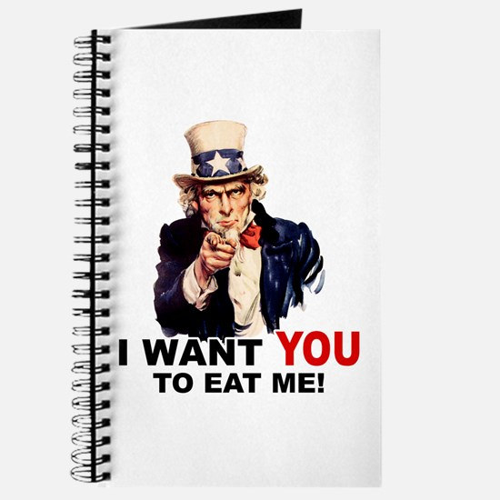 Want You To Eat Me Journal