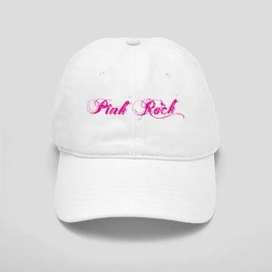 pink rock punk rock trucker Baseball Cap