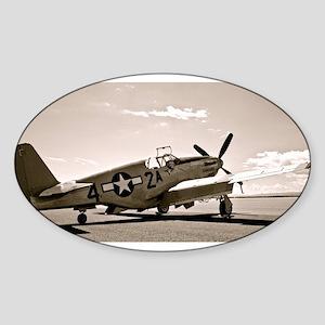 Tuskegee P-51 Sticker