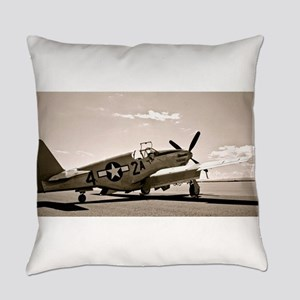 Tuskegee P-51 Everyday Pillow