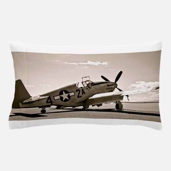 Tuskegee P-51 Pillow Case