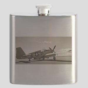 Tuskegee P-51 Flask