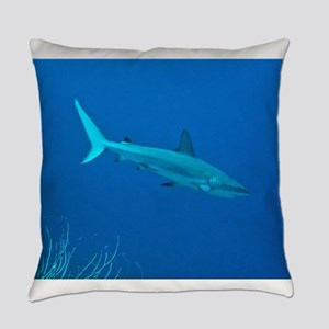 Caribbean Reef Shark Everyday Pillow