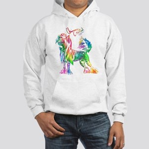 Colorful Chinese Crested Hoodie