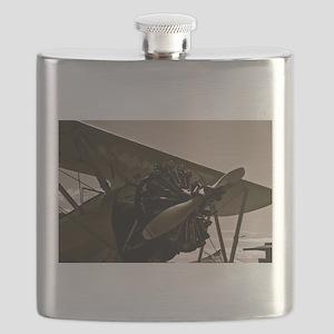 Bi Plane Flask