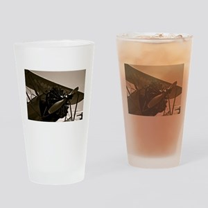 Bi Plane Drinking Glass
