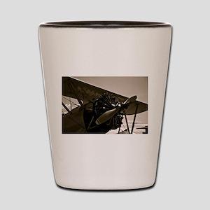 Bi Plane Shot Glass