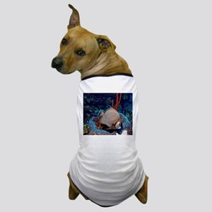 Grey Angelfish Dog T-Shirt