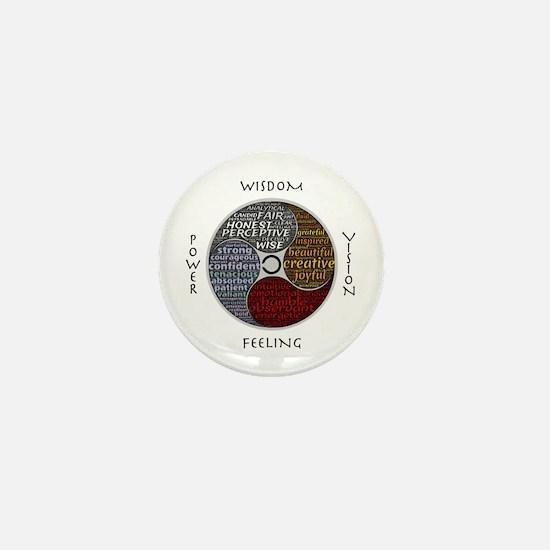 Cute Virtue Mini Button