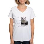 Unique Tee Shirts Women's V-Neck T-Shirt