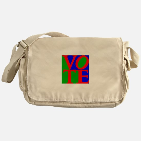 Exercise the Right to Vote Messenger Bag