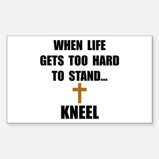 Kneel Decal