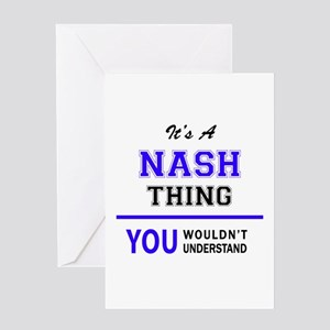 NASH thing, you wouldn't understand Greeting Cards