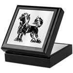 Chinese Crested Dog Keepsake Box