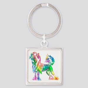 Chinese Crested Dog Keychains