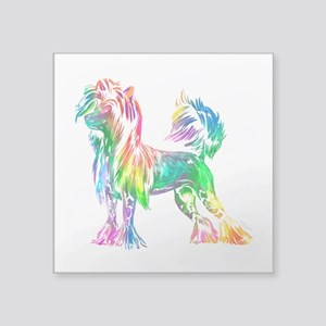 Chinese Crested Dog Sticker