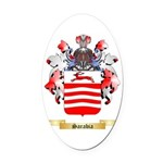 Sarabia Oval Car Magnet