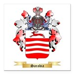 Sarabia Square Car Magnet 3