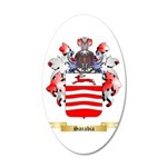 Sarabia 20x12 Oval Wall Decal