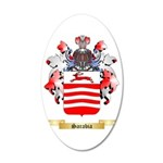 Sarabia 35x21 Oval Wall Decal