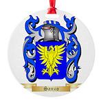 Sanzio Round Ornament