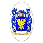 Sanzio Sticker (Oval 50 pk)