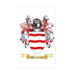 Santorina Sticker (Rectangle 50 pk)