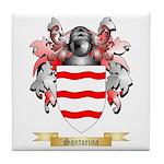 Santorina Tile Coaster