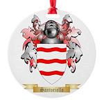 Santoriello Round Ornament