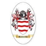Santoriello Sticker (Oval 10 pk)