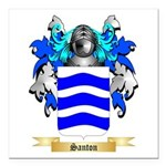 Santon Square Car Magnet 3
