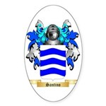Santino Sticker (Oval 10 pk)