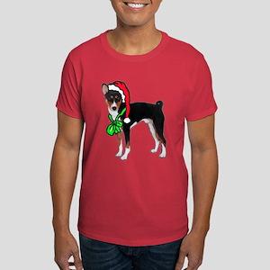 Basenji Christmas Dark T-Shirt