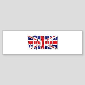 Wrexham Bumper Sticker