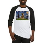 Starry Night / Border Terrier Baseball Jersey