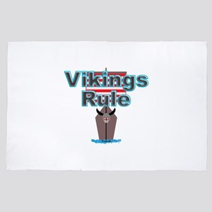 Vikings Rule 4' x 6' Rug