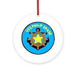USS Philip (DD 498) Ornament (Round)