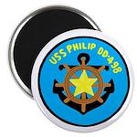 "USS Philip (DD 498) 2.25"" Magnet (10 pack)"