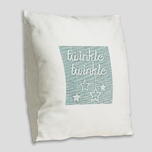 ! Burlap Throw Pillow