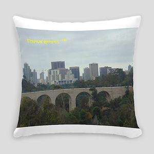 San Diego Skyline Everyday Pillow