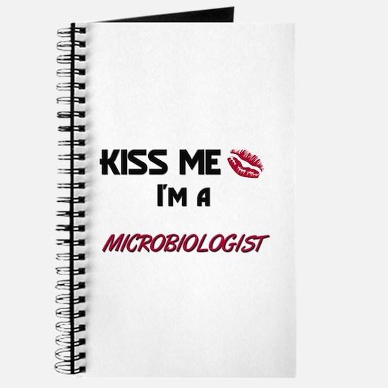 Kiss Me I'm a MICROBIOLOGIST Journal