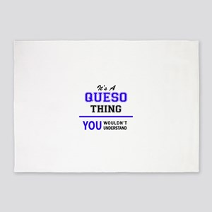QUESO thing, you wouldn't understan 5'x7'Area Rug