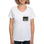 American Ferret Women's V-Neck T-Shirt