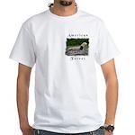 American Ferret White T-Shirt
