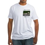 American Ferret Fitted T-Shirt